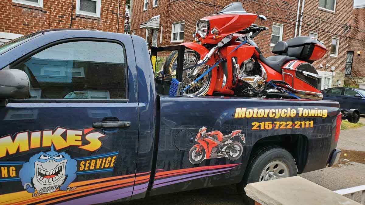 Cycle Towing in Philadelphia