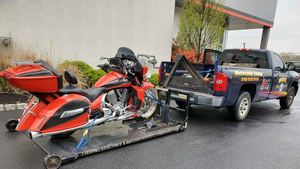 motorcycle towing philadelphia